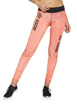 Boss 45 Graphic Activewear Leggings - 1058038346091