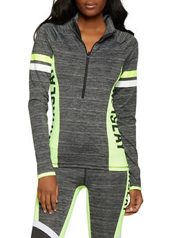 Namaslay Graphic Activewear Sweatshirt - 1058038346100