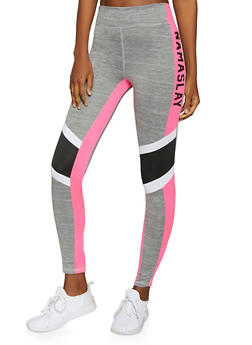 Namaslay Graphic Activewear Leggings - 1058038346101