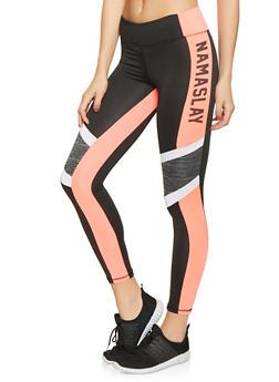 Namaslay Graphic Activewear Leggings - 1058038346101