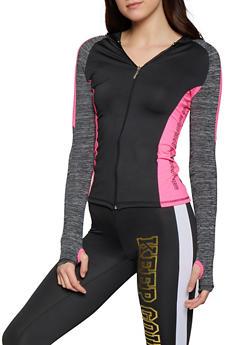 Keep Going Color Block Activewear Sweatshirt - 1058038346170