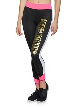 Keep Going Color Block Activewear Leggings - 1058038346171