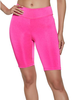 Basic Spandex Bike Shorts - 1058038347281