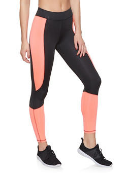 Color Block Activewear Leggings | 1058038347511 - 1058038347511