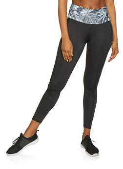 Color Block Activewear Leggings | 1058038347631 - 1058038347631
