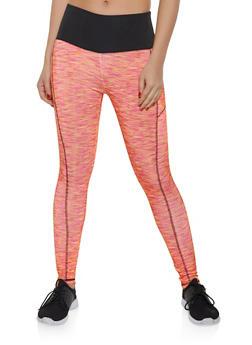 Color Block Activewear Leggings | 1058038347631 - 1058038347631