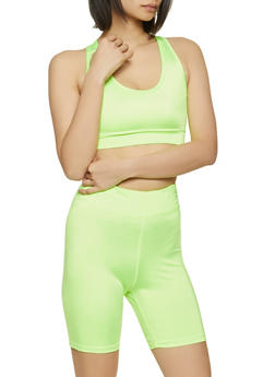 Spandex Basic Sports Bra - 1058051068840