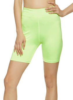 Spandex Basic Bike Shorts - 1058051068841