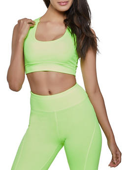 Solid Sports Bra - 1058051068880