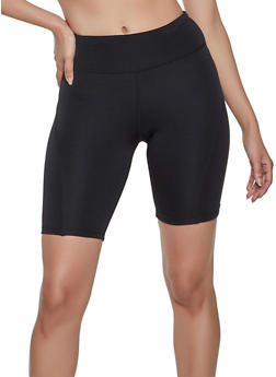 Solid Active Bike Shorts - 1058051068881