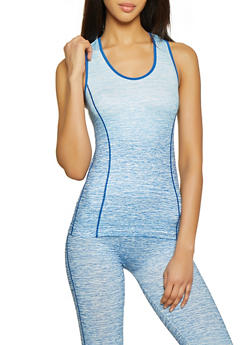 Two Tone Active Tank Top - 1058069022850