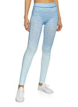 Two Tone Active Leggings - 1058069022851