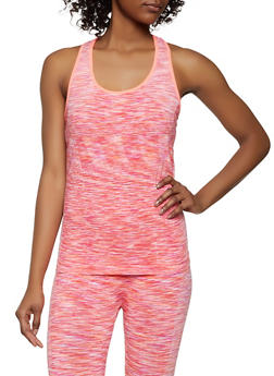 Marled Active Top - 1058069022868