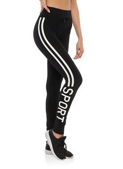 Sport Graphic Activewear Leggings - 1059001440223