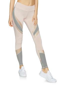 Color Block Activewear Leggings | 1059051064079 - 1059051064079