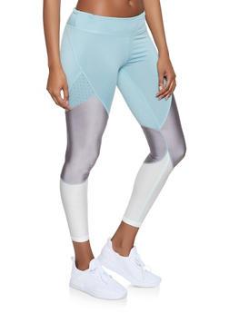 Color Block Activewear Leggings   1059051064081 - 1059051064081