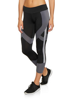 Color Block Active Leggings | 1059051064259 - 1059051064259