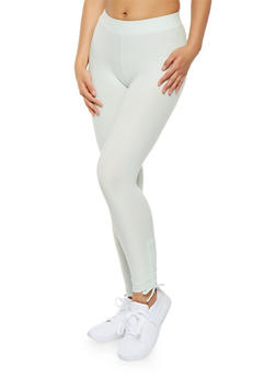 Drawstring Side Leggings - 1059061638144