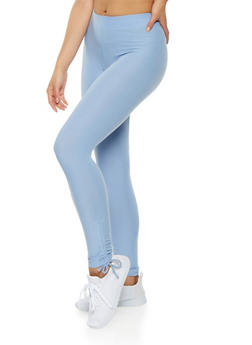Drawstring Side Leggings - 1059061638144