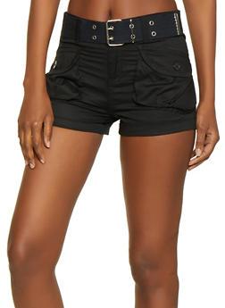 Belted Cargo Shorts | 1060038342271 - 1060038342271