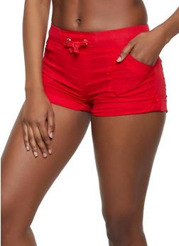 Tabbed Cuff Shorts - 1060038342272