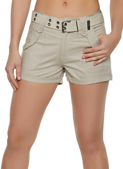 Belted Shorts - 1060038345829