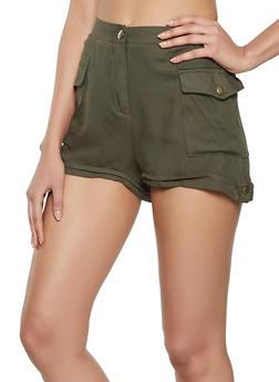 Twill Cargo Shorts - 1060051061850