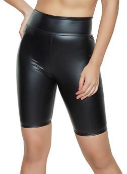 Coated Bike Shorts - 1060074010655