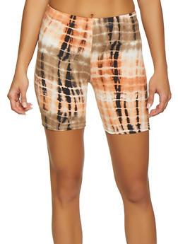 Printed Soft Knit Bike Shorts - 1060074015012