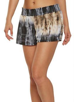 Tie Dye Shorts - 1060074015858