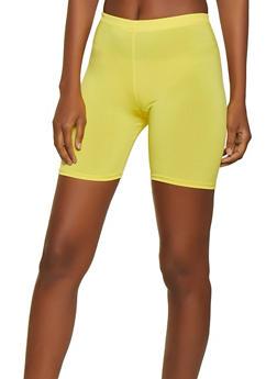 Solid Bike Shorts - 1060074015959
