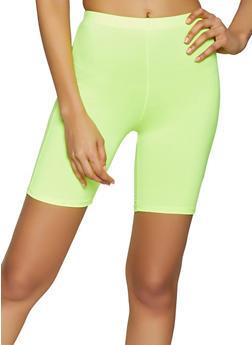 Neon Bike Shorts - 1060074015968
