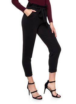Paper Bag Waist Trousers - 1061015991422
