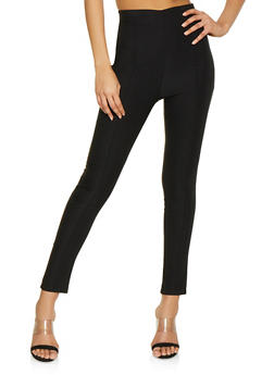 Pintuck Stretch Pull On Pants - 1061020623428