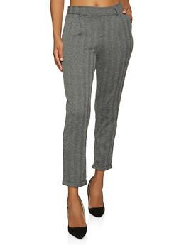 Herringbone Dress Pants - 1061054265287