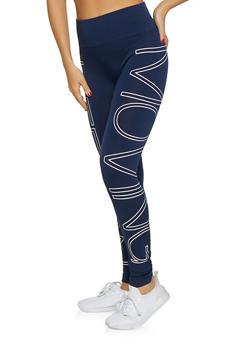 Graphic Activewear Leggings - 1061061633100