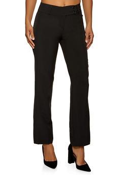 Two Button Dress Pants - 1061062701730