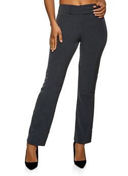 Two Button Dress Pants - 1061062701730