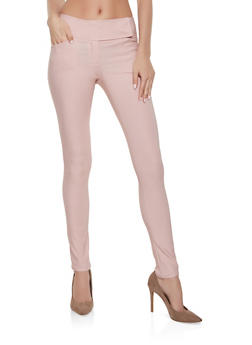 Tabbed Waist Dress Pants - 1061062707034