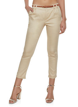 Pleated Roll Cuff Trousers - 1061062708508