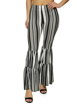Tiered Flared Pants - 1061074010617