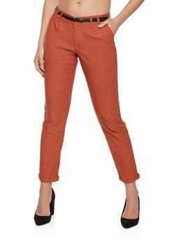 Stretch Fixed Cuff Dress Pants - 1061074010855