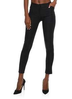 Black Skinny Dress Pants - 1061074015846