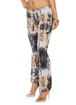 Tie Dye Flared Pants - 1061074015857