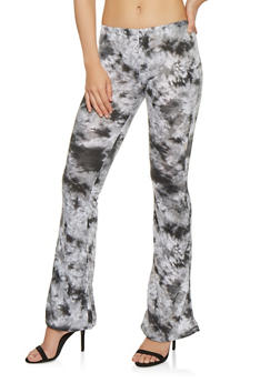 Tie Dye Flared Pants - 1061074015872