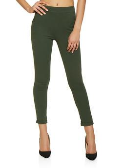 Crepe Knit Dress Pants - 1061074015939
