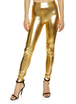 Metallic Leggings - 1061074015953