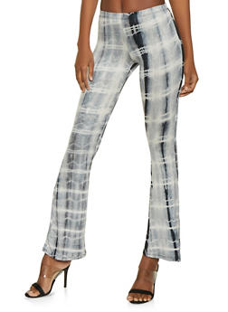 Tie Dye Flared Pants - 1061074015962