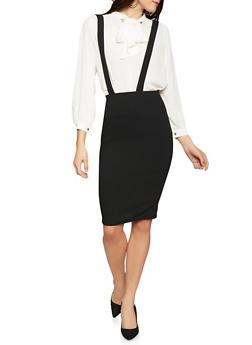 Suspender Pencil Skirt - 1062020625648
