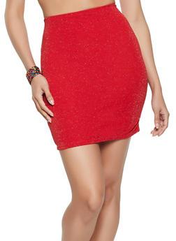 Lurex Pencil Skirt - 1062020628634